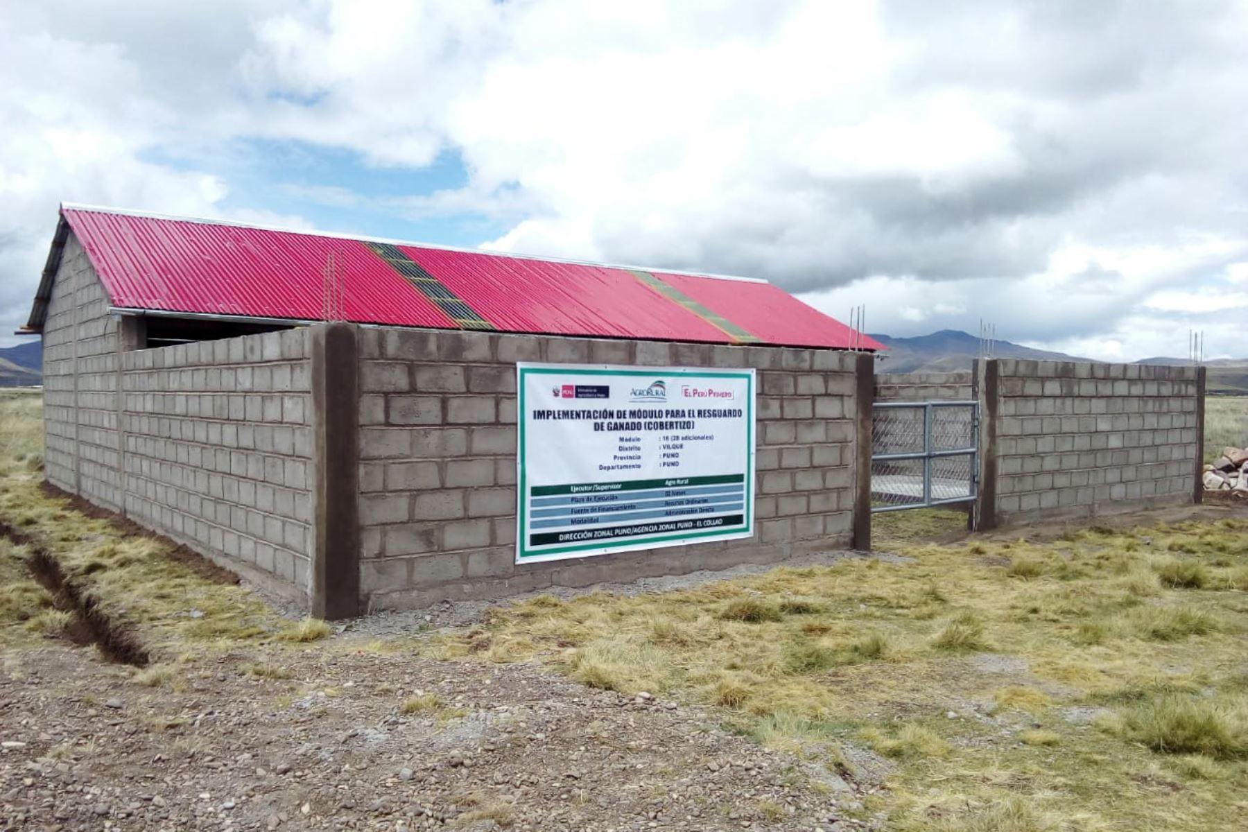 Minagri anuncia inversión de S/ 50 millones para implementar cobertizos en 12 regiones