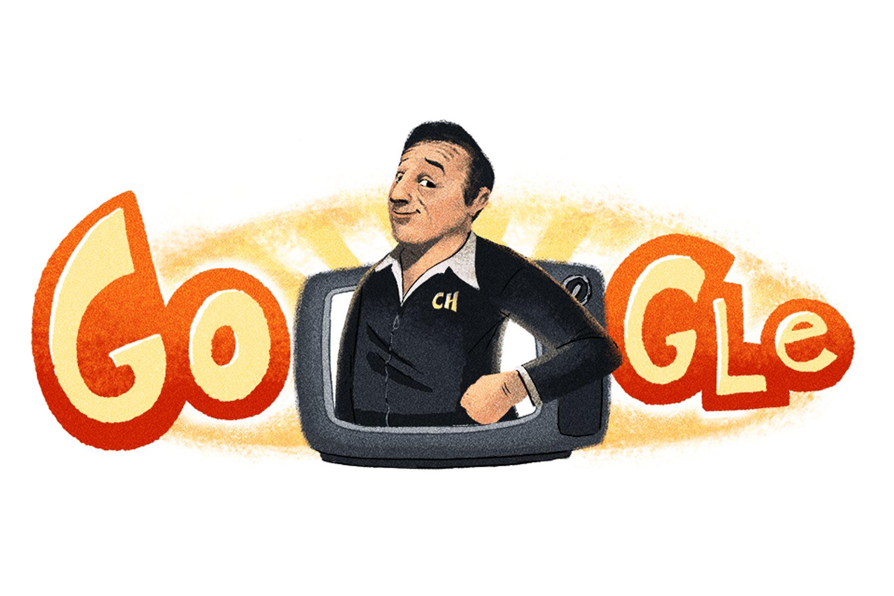 La artista del doodle, Helene Leroux, explicó en el blog oficial de Google que había creado una animación algunos años atrás sobre el programa El Chavo del Ocho.