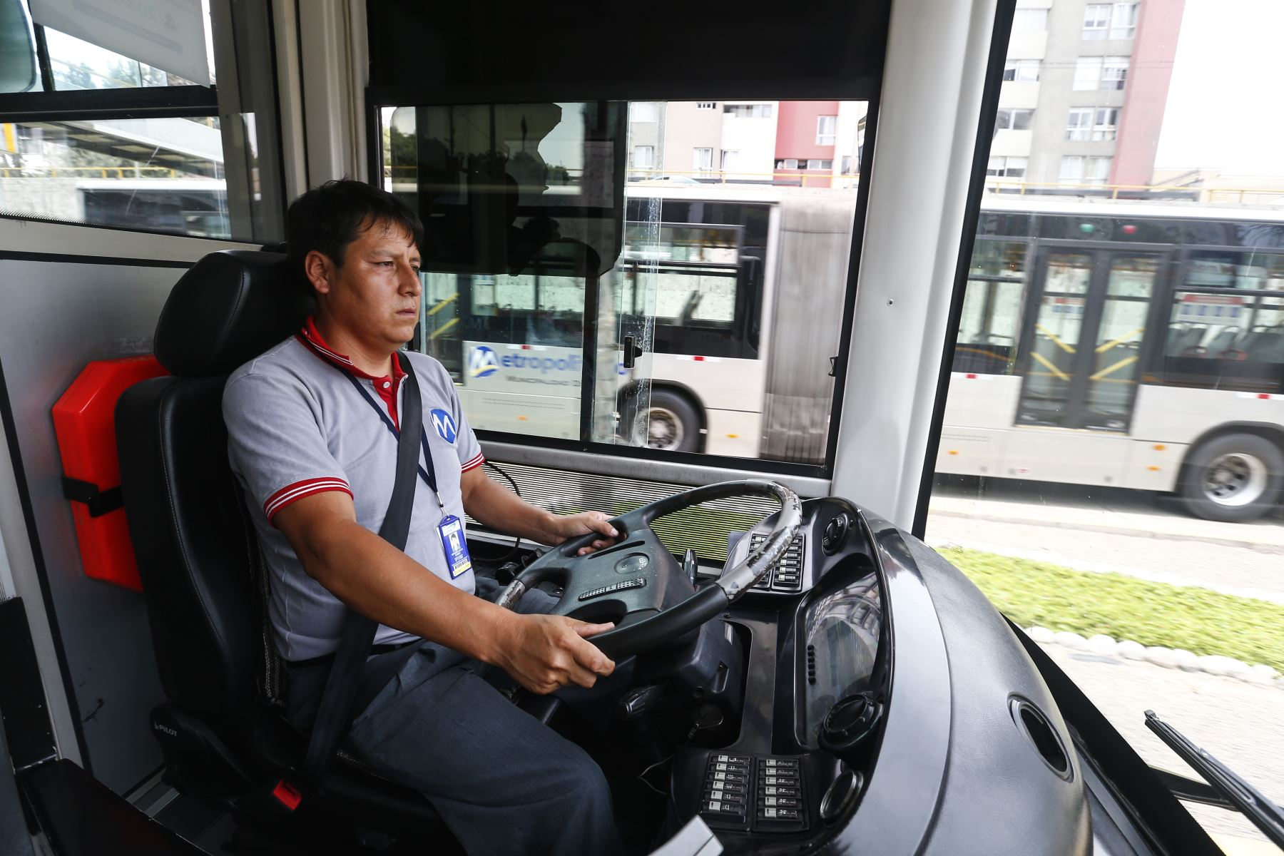 El alcalde Jorge Muñoz inaugura la nueva estación Andrés Reyes del Metropolitano, que beneficiará a 26 mil usuarios que utilizan a diario el servicio. Foto: ANDINA/Jhonel Rodríguez Robles