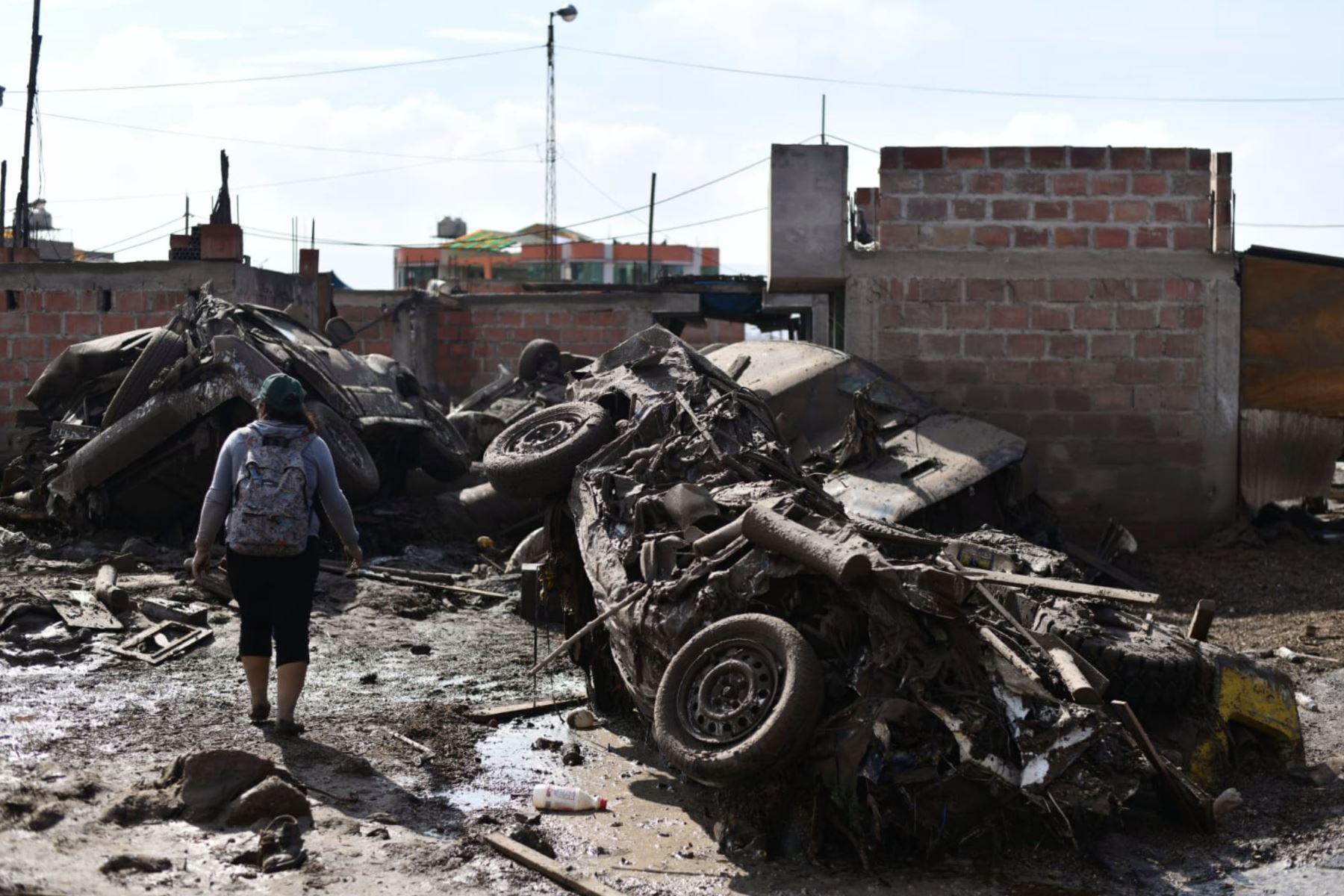 Imágenes impactantes de la región Tacna, luego de los huaicos que inundó calles de la ciudad. Foto : Cortesía /Diego Ramos Lupo