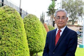 Oswaldo Zegarra es médico cirujano especializado en Pediatría por la Universidad Peruana Cayetano Heredia (UPCH). Foto: Sunedu.