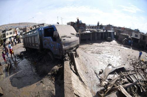Huaico en Tacna: Minsa confirma tres fallecidos y garantiza atención a heridos. ANDINA/Difusión