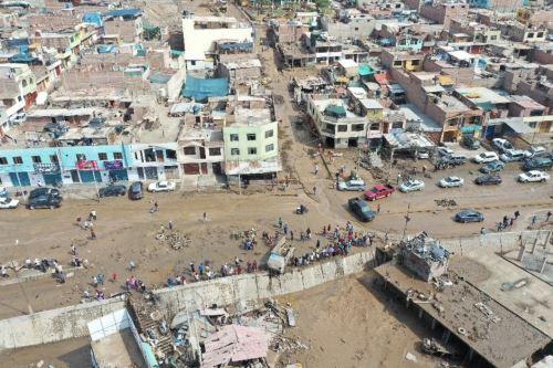 Fotos con Drone: Huaicos causan estragos en Tacna