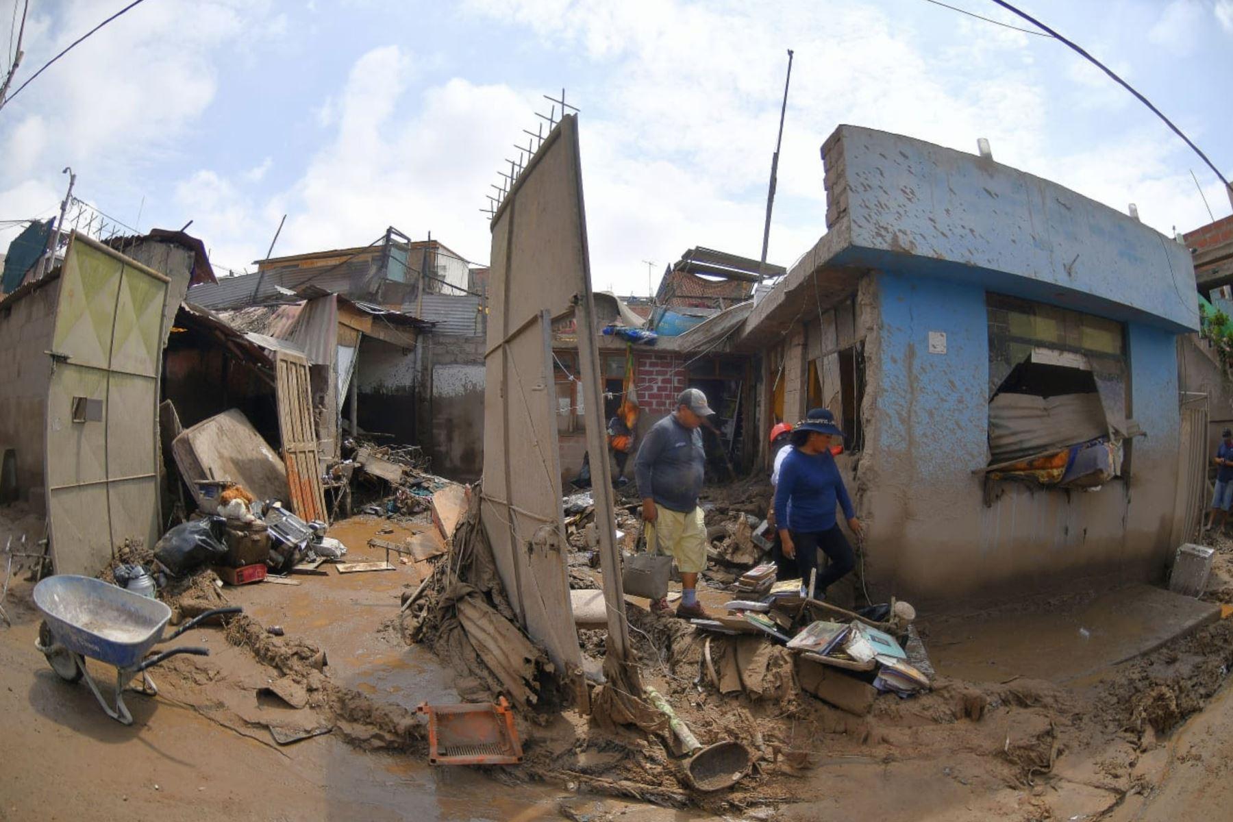 Imágenes impactantes de la región Tacna, luego de los huaycos que inundó calles de la ciudad. Foto : Cortesía /Diego Ramos Lupo