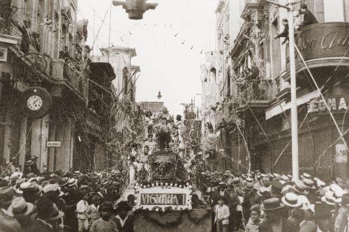 Lima 1928: Carnavales de antaño