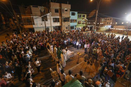Misa a un mes de la tragedia por deflagración en Villa el Salvador