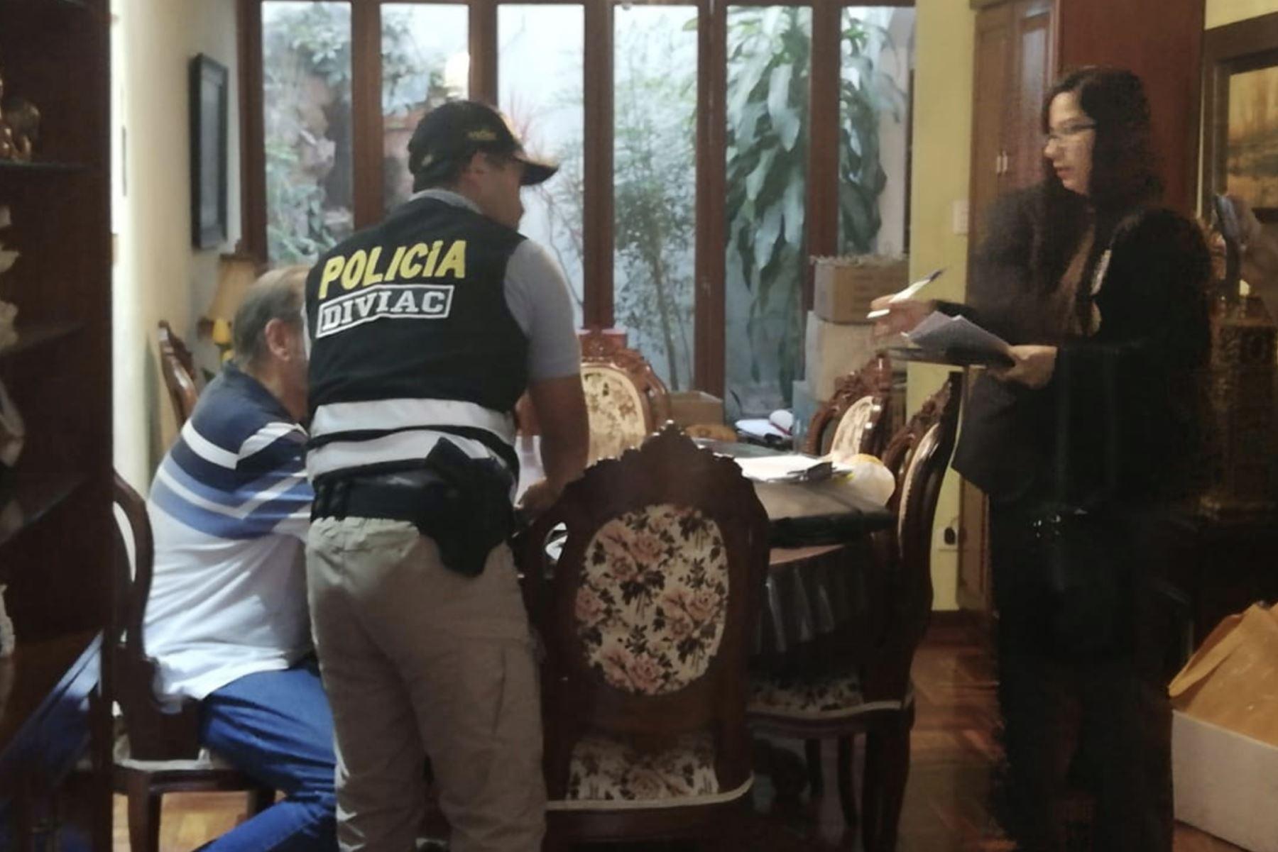 La jueza María de los Ángeles Álvarez dispuso la detención preliminar del exprimer ministro Yehude Simon. Foto: Diviac