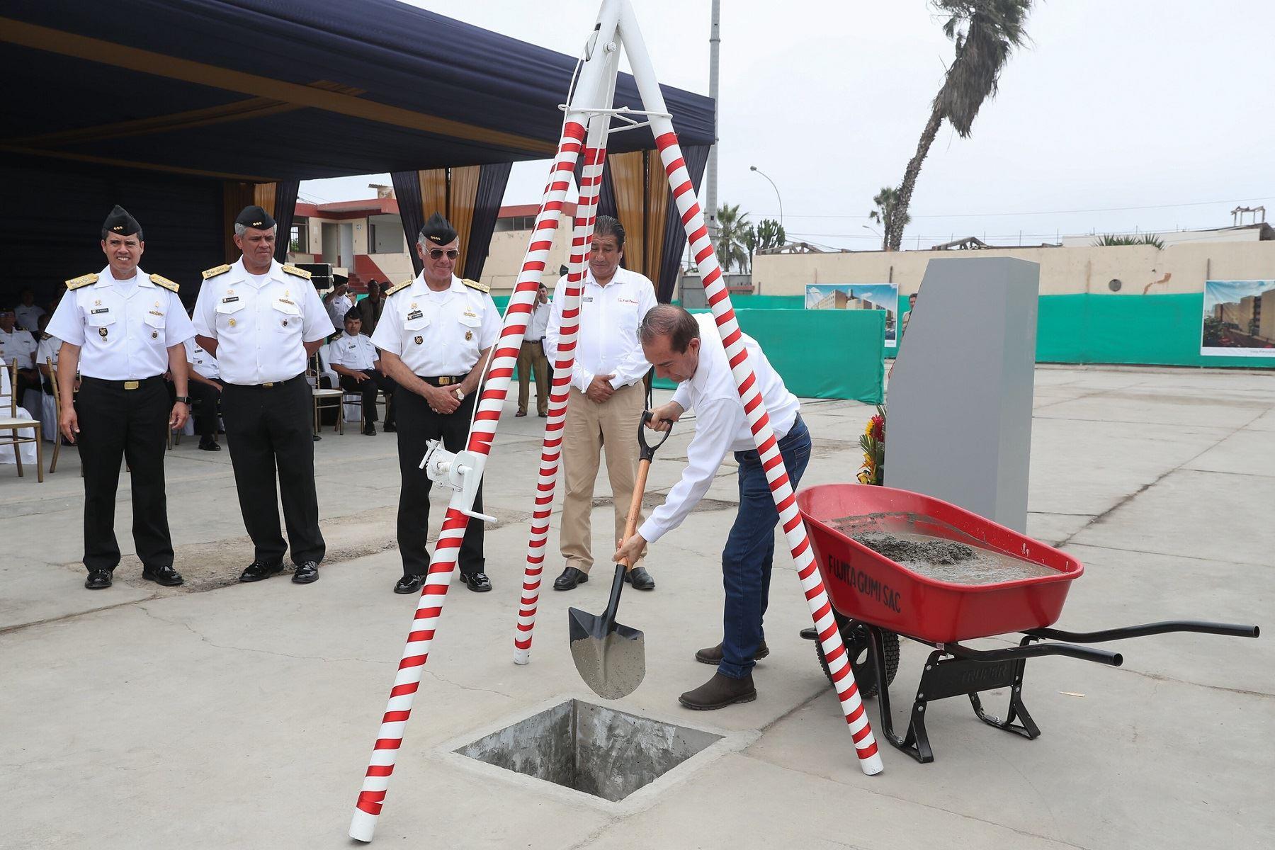 Nuevo complejo habitacional beneficiará a más de 260 familias de la Marina de Guerra. Foto: Difusión