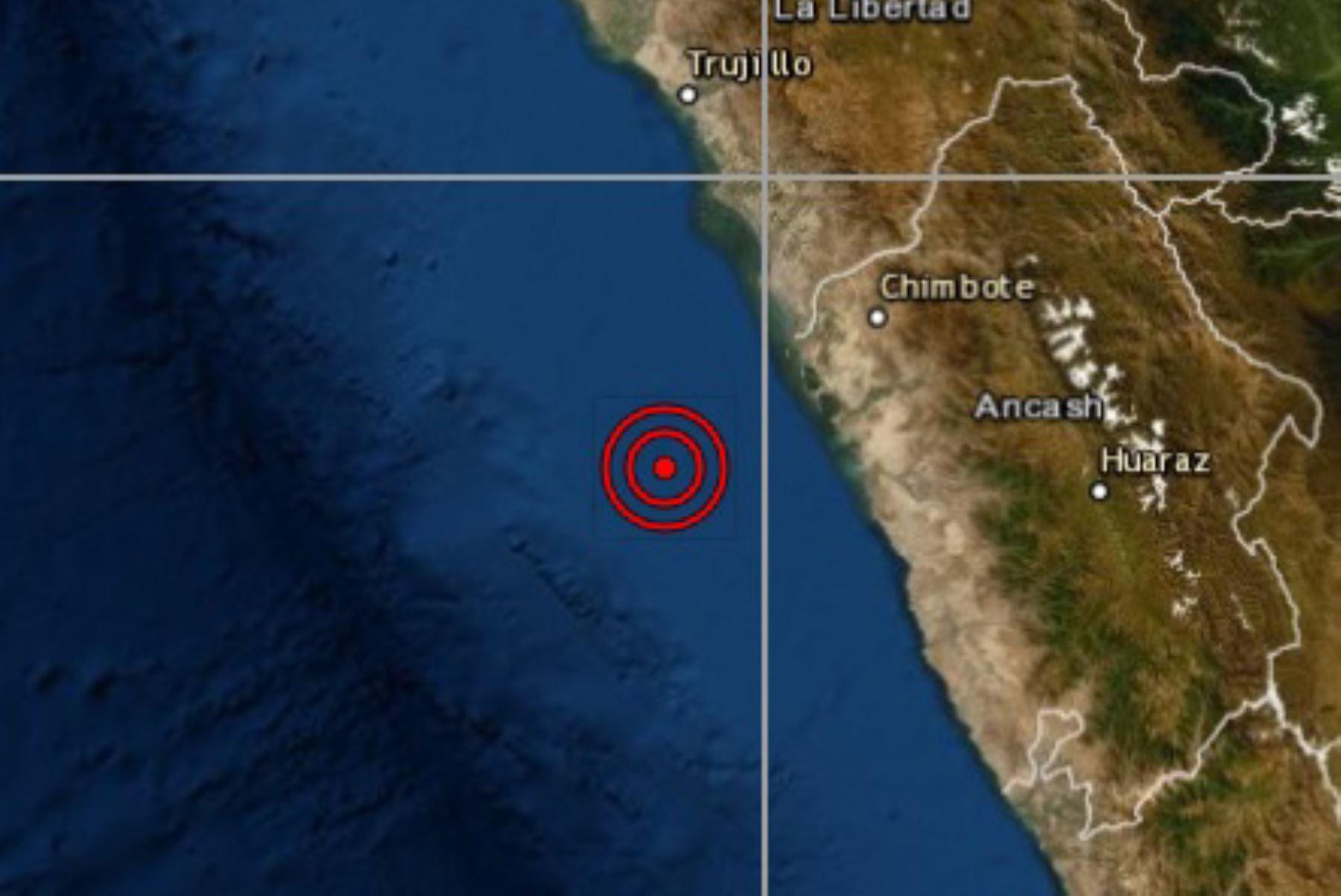 Un temblor de magnitud 4.1 se registró esta madrugada en la provincia del Santa Huaura, región Áncash, informó el Instituto Geofísico del Perú (IGP).