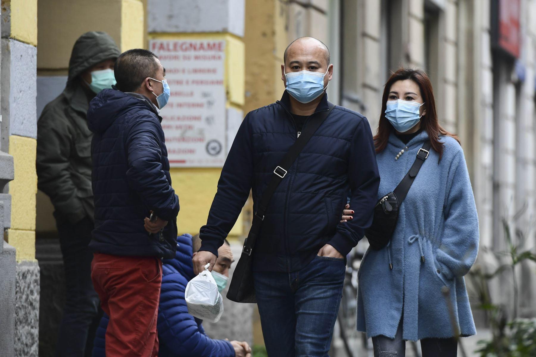 Preocupación en Europa por avance del coronavirus. Foto: AFP