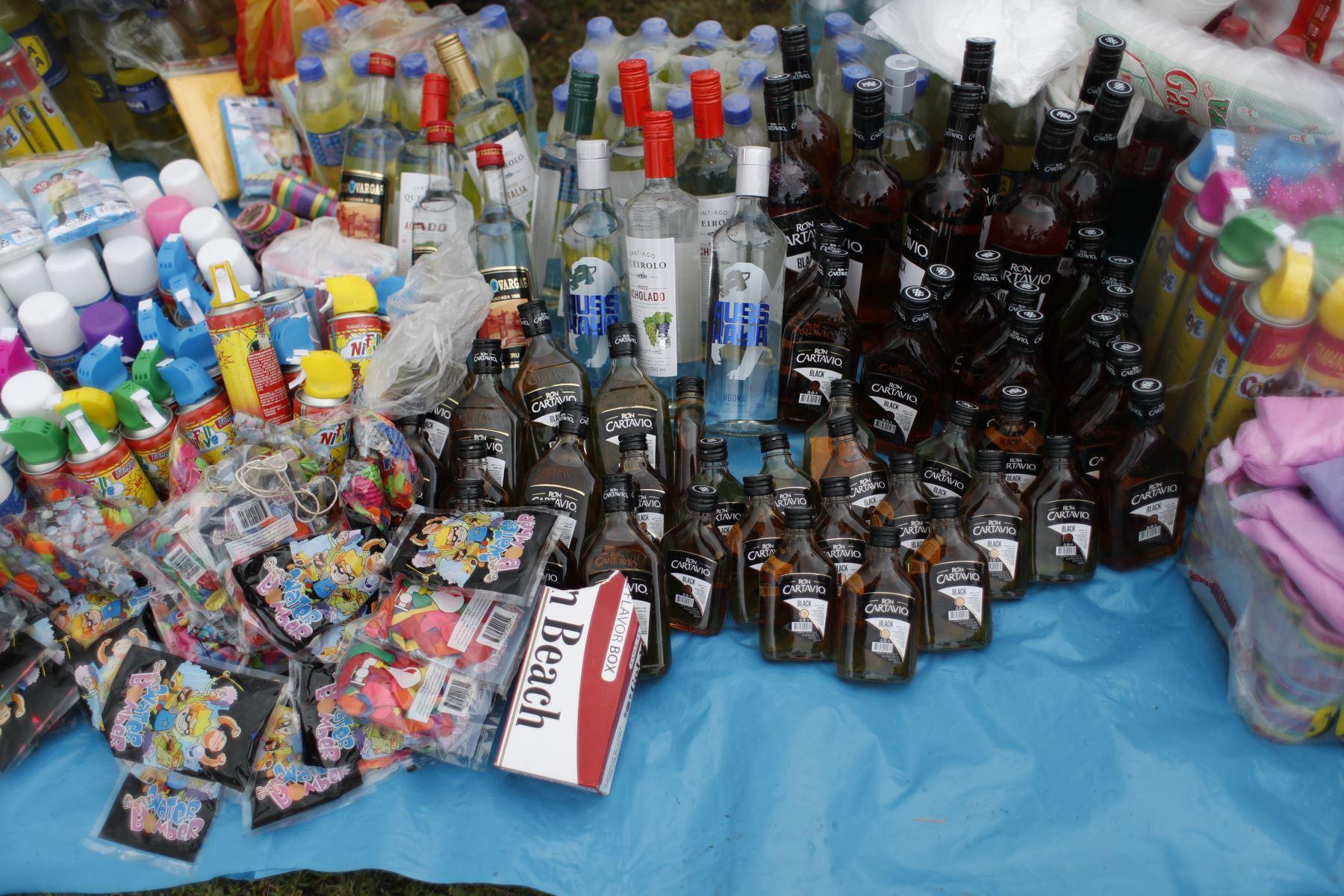 Tampoco hace falta la venta de licor en la festividad. Foto: ANDINA/Renato Pajuelo