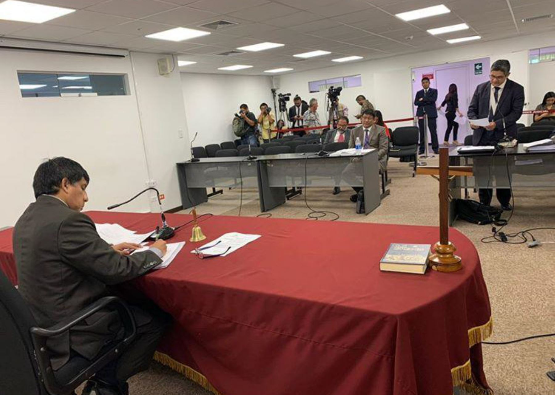 Audiencia de impedimento de salida del país del empresario chileno Gerardo Sepúlveda.