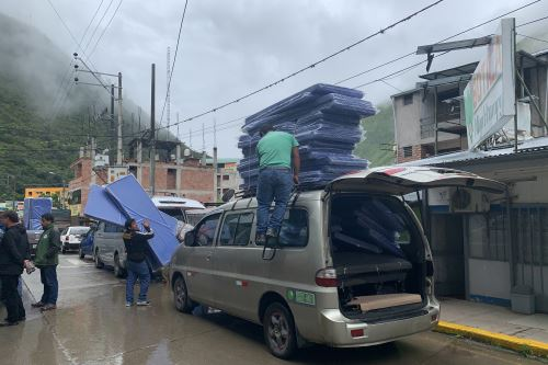 El ministro de Comercio Exterior y Turismo monitorea traslado de heridos y envío de ayuda humanitaria en Cusco