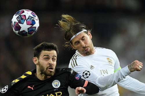 Real Madrid pierde 2 a 1 ante el  Manchester City en el partido de  ida por la Champions League