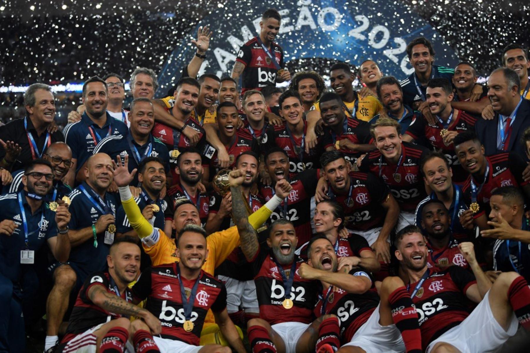 Flamengo se proclamó campeón de la Recopa Sudamericana, la primera que obtiene en su historia