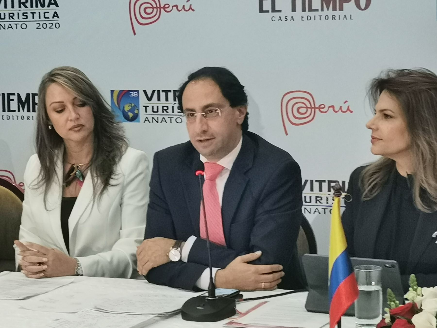 Ministro de Comercio, Industria y Turismo de Colombia, José Manuel Restrepo.