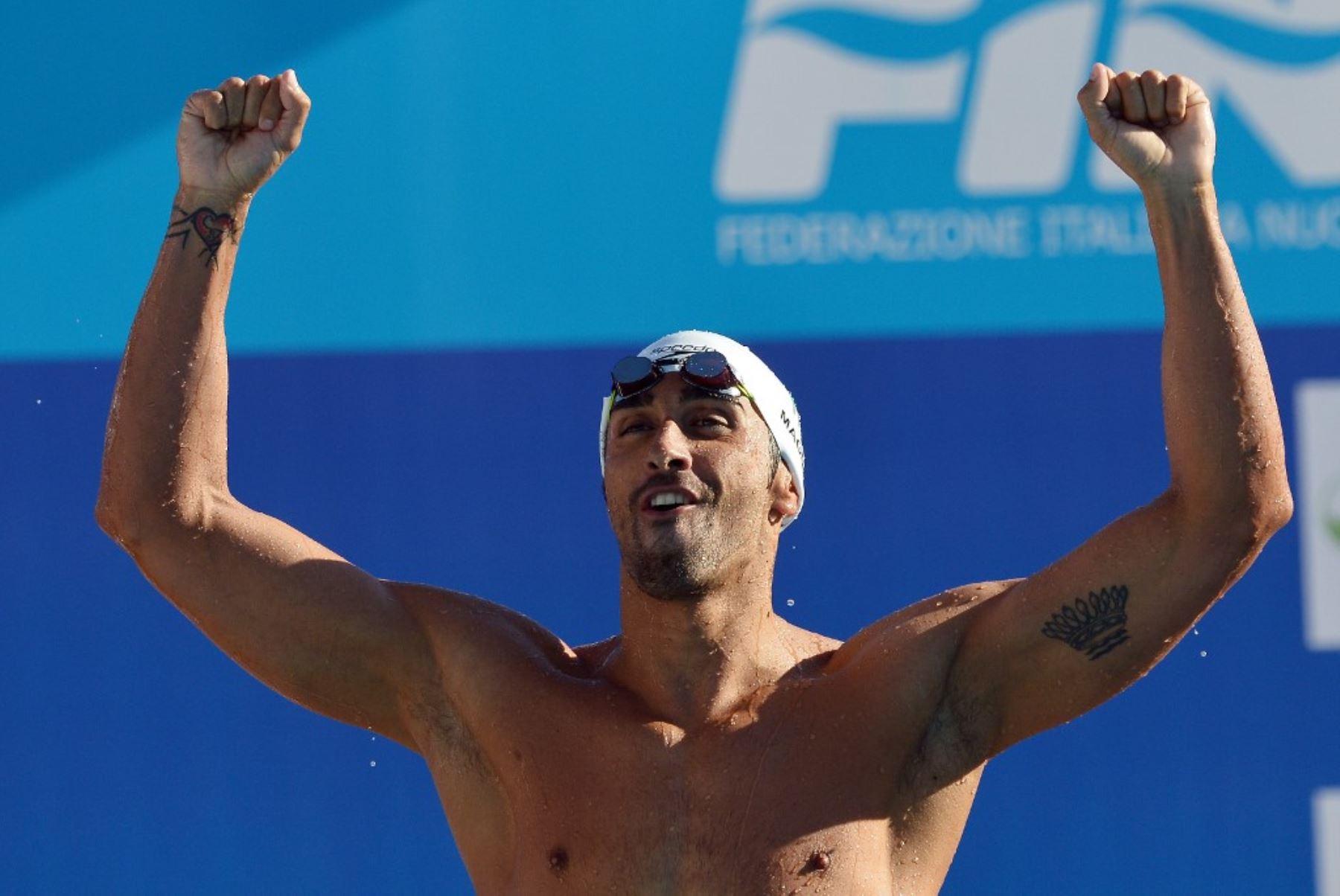 El Tribunal Arbitral del Deporte (TAS) anunció este jueves la anulación de la suspensión de cuatro años por dopaje del italiano Filippo Magnini, que fue doble campeón del mundo de 100 metros libres, ahora retirado.