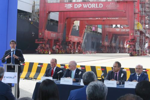 Ministro de Transportes y Comunicaciones, Carlos Lozada. Foto: ANDINA/Héctor Vinces