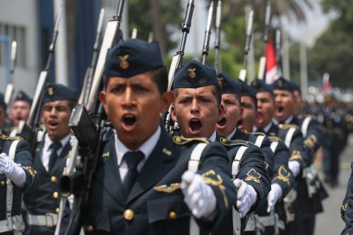 Ceremonia por el 25º aniversario de las operaciones en el Alto Cenepa