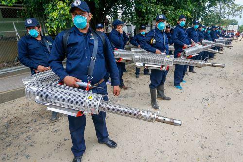 Ministra de Salud supervisa acciones contra el dengue en San Martín
