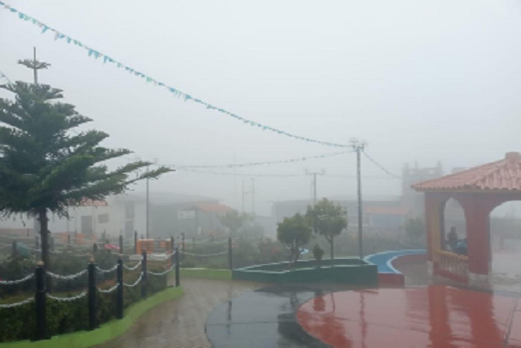 Pronostican lluvias ligeras y fuertes que ponen en riesgo a 41 distritos de Áncash