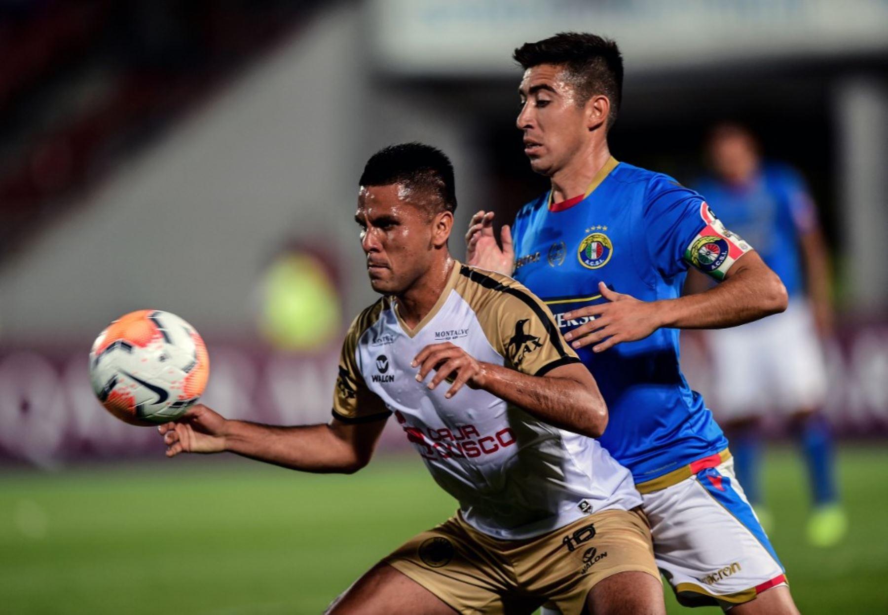 El Cusco FC no pudo con la presión existente en Santiago y sucumbió 3-0 ante el Audax Italiano