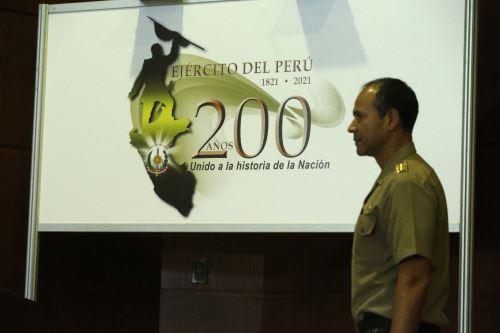 Ejército del Perú presenta el logo oficial por aniversario de creación institucional
