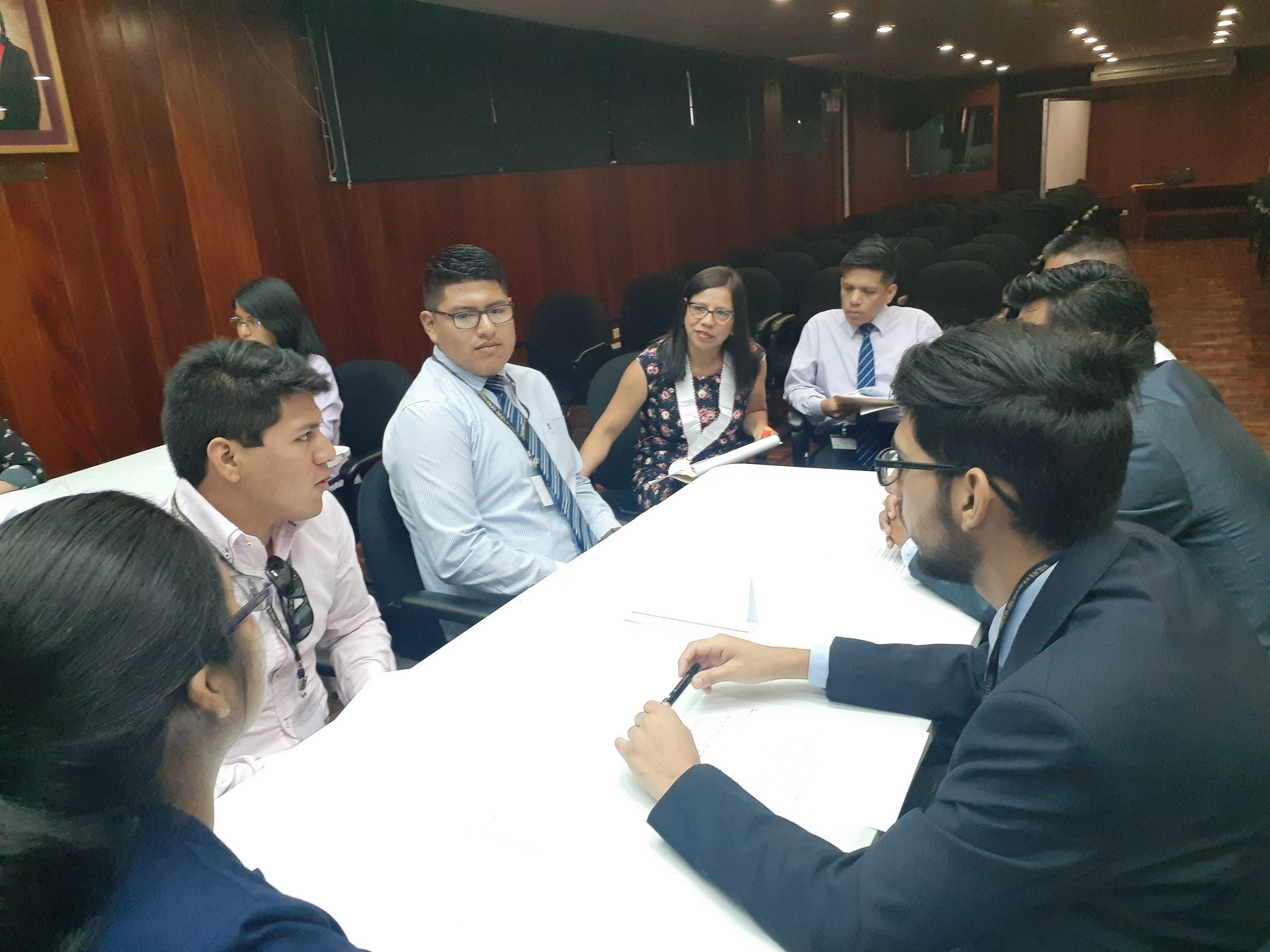 Programa de voluntariado universitario del Ministerio Público