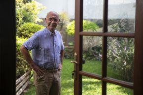 Gianfranco Brero nos abre las puertas de su casa y hablamos de su vida personal, del cine, del budismo y de las producciones nacionales. ANDINA/Jhonel Rodríguez Robles