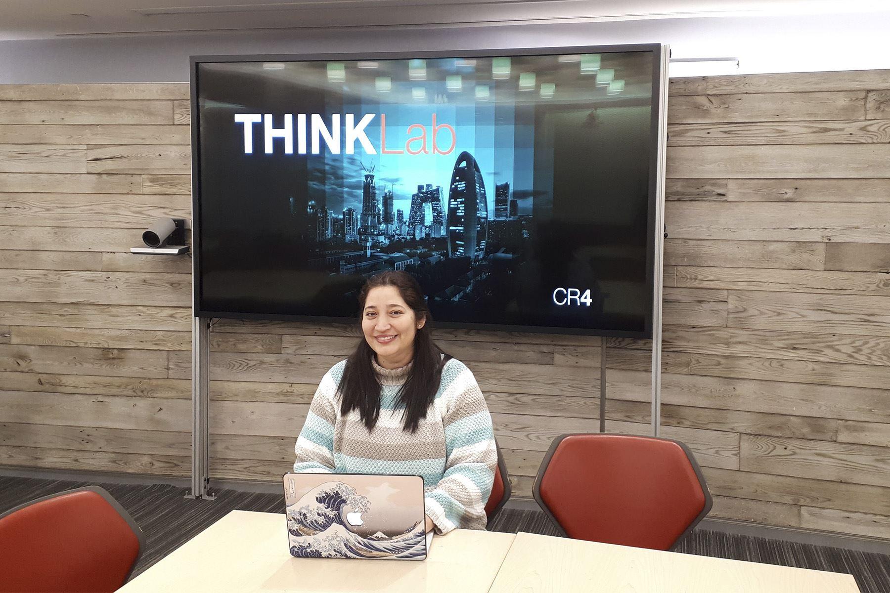Carla Agurto es investigadora del Centro de Investigación IBM Thomas J. Watson.