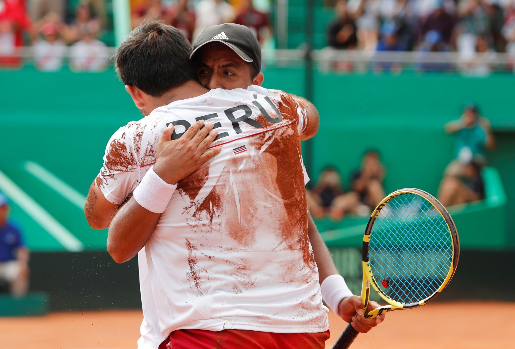 La selección peruana buscará conseguir el triunfo en este partido de la Copa Davis. Foto: EFE