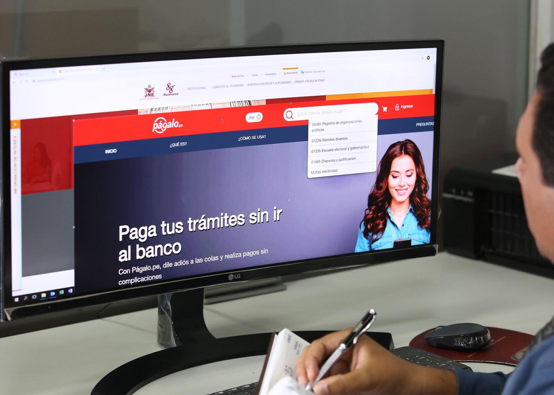 Págalo.pe. Foto: ANDINA/Difusión
