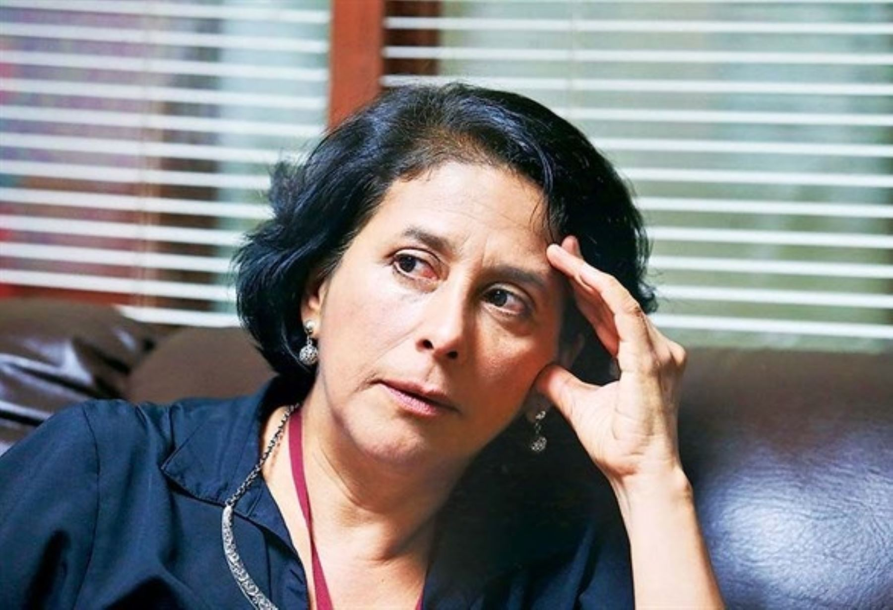 Escritora Irma del Águila.