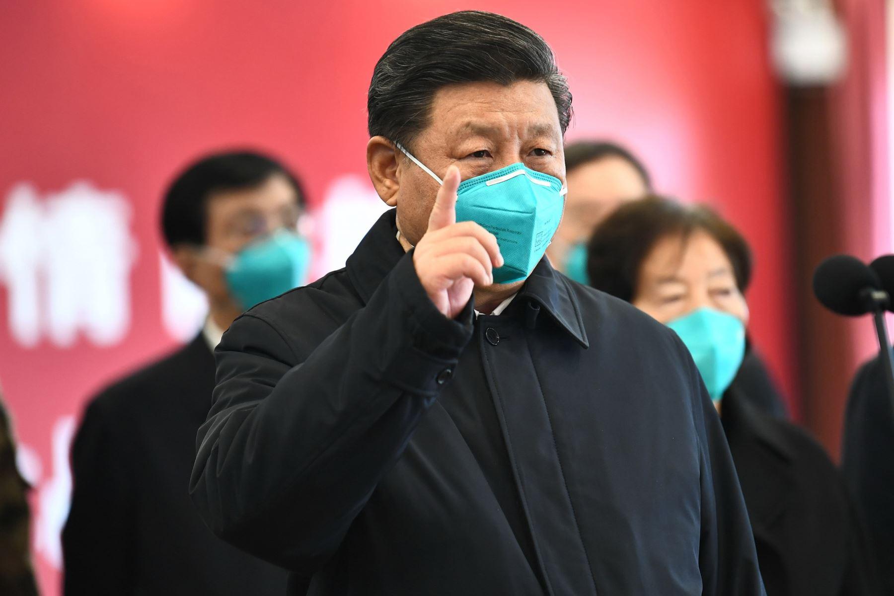 El presidente chino Xi Jinping propuso que se convoque a una reunión de ministros de Salud del G20. Foto:  AFP