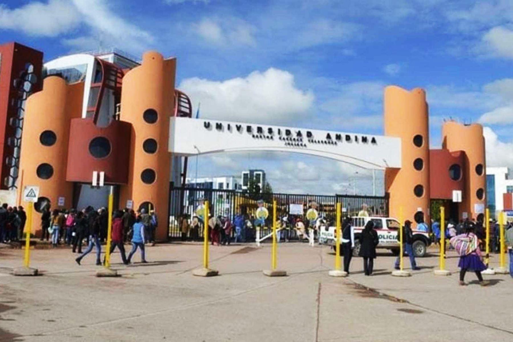 Fiscalía de Puno solicita prisión preventiva contra exrectores de la Universidad Andina de Juliaca. ANDINA/Difusión