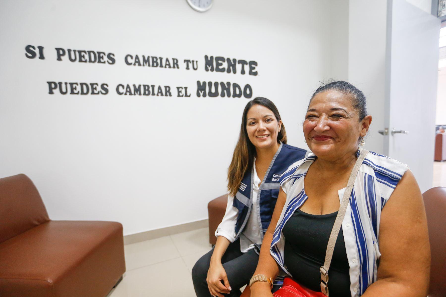 A la fecha se han abierto 155 Centros de Salud Mental Comunitarios (CSMC) en todo el país. Foto:ANDINA/ Minsa