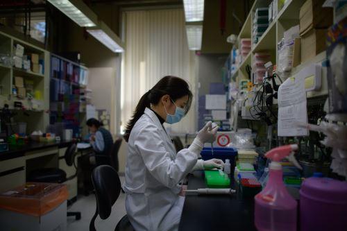 EEUU busca la vacuna contra el coronavirus. Foto: AFP