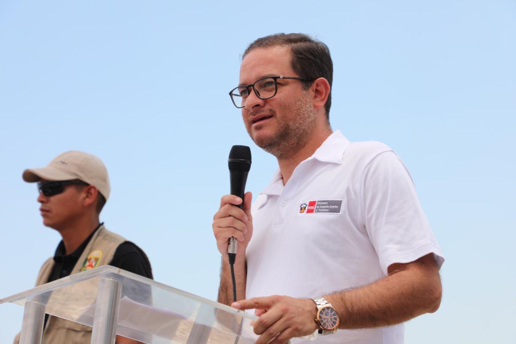 Ministro de Comercio Exterior y Turismo, Edgar VásquezFoto: . ANDINA/Difusión.