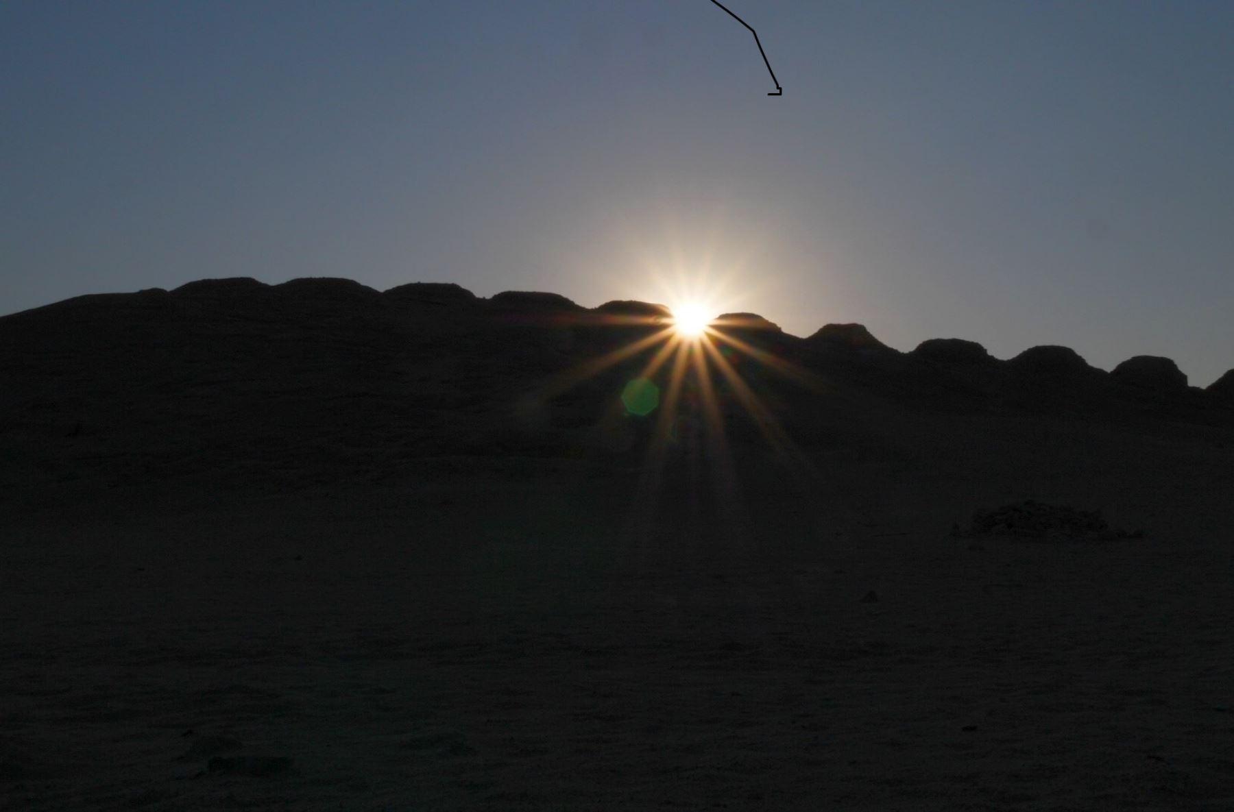Conoce el observatorio solar de Chankillo y disfrute de un paseo virtual en este monumento ubicado en la región Áncash y que postula a ser declarado Patrimonio de la Humanidad. ANDINA/Difusión