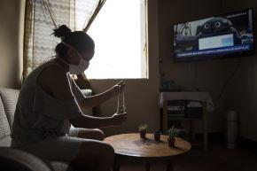 Las familias en cuarentena realizan diversas actividades dentro de su hogar. Aprovechan el tiempo libre para estar unidos y vencer al coronavirus COVID 19. Foto: ANDINA/Jhonel Rodríguez Robles