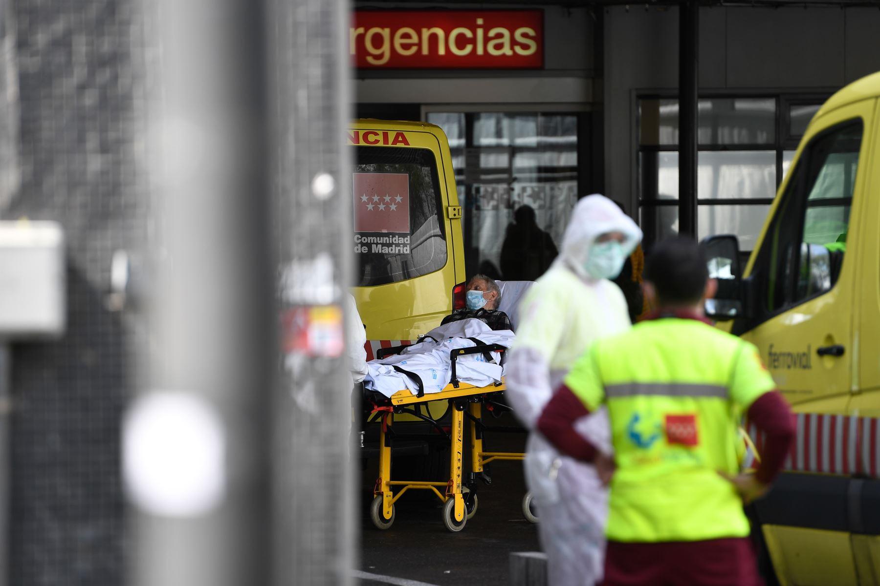 España ya superó a China en número de víctimas mortales a causa del coronavirus. AFP