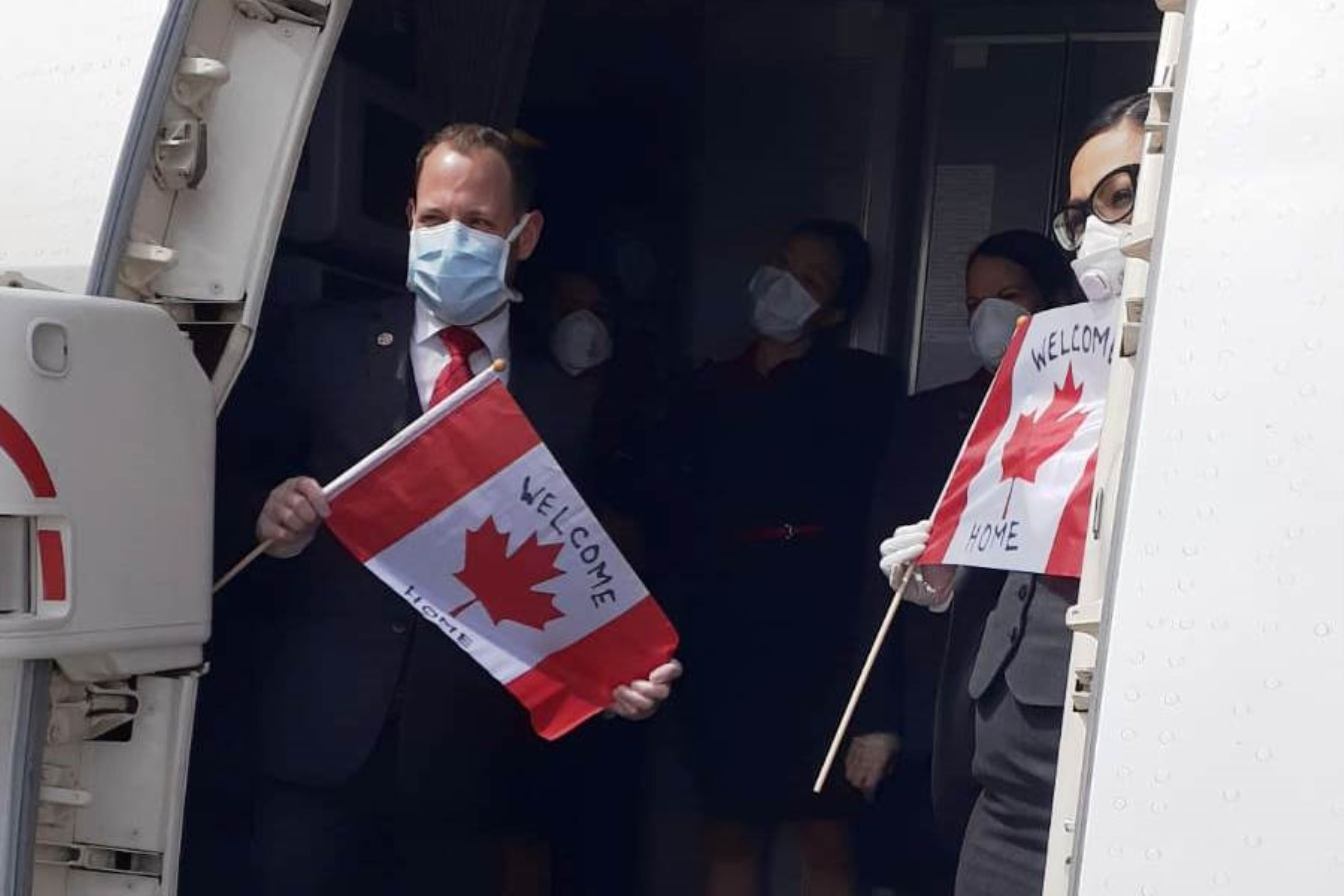 Coronavirus: 400 canadienses fueron repatriados en vuelo especial desde Perú. Foto: ANDINA/Difusión.