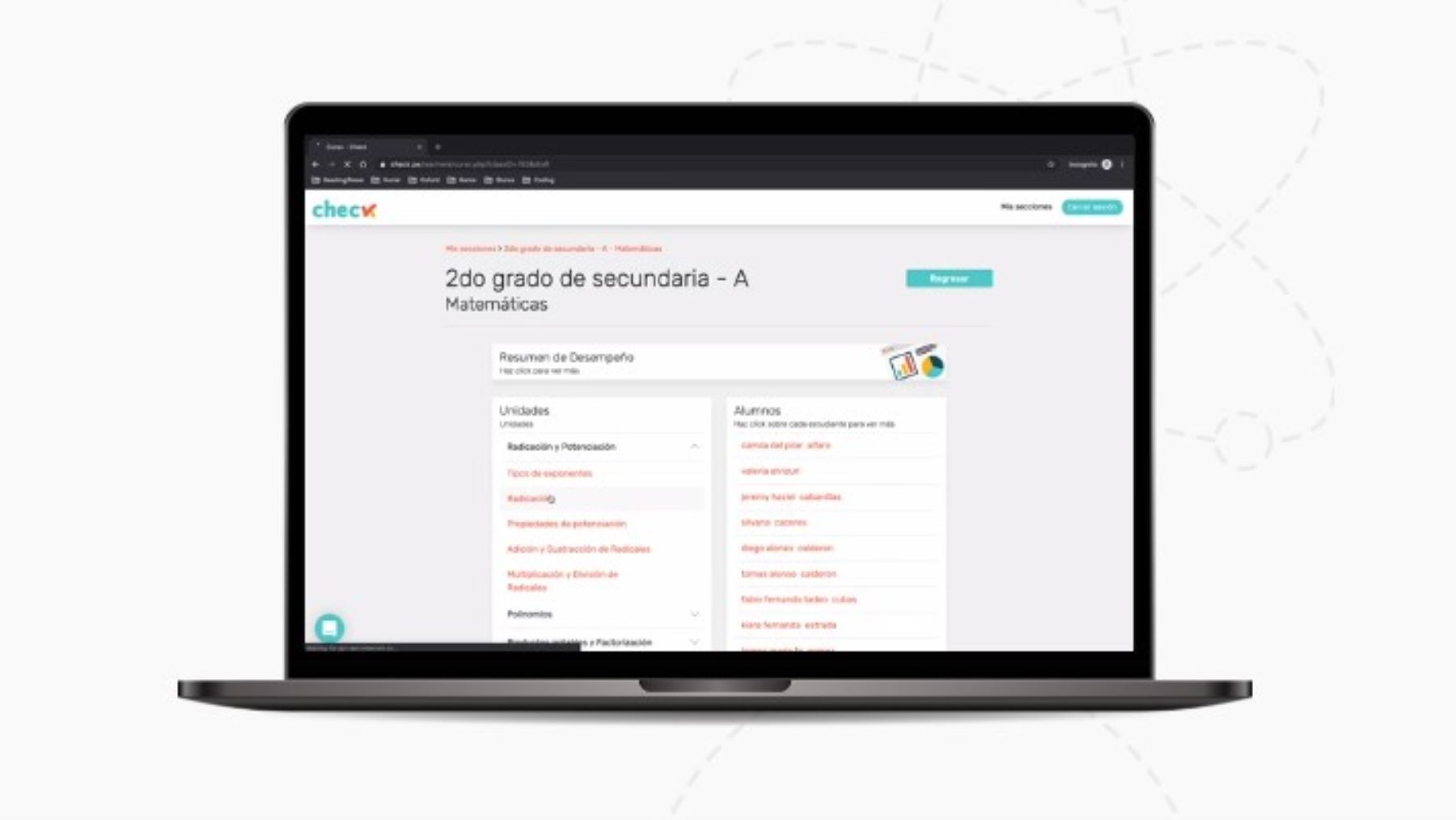 Check lanza versión gratuita de su plataforma para estudiantes de colegios estatales.