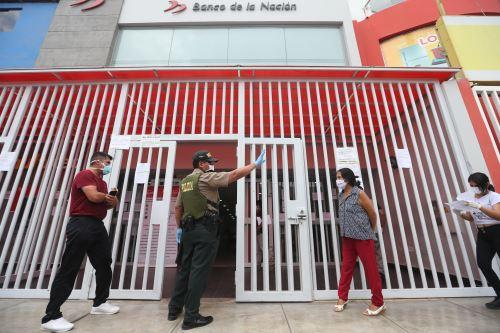 Banco de la Nación empezó a pagar el bono de S/ 380 a beneficiarios