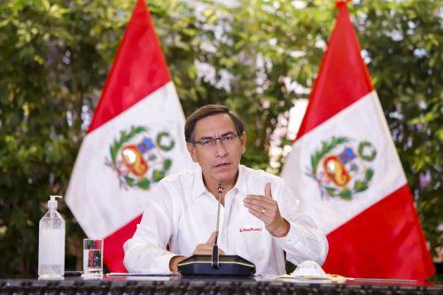 Presidente Vizcarra y ministros de Estado informan sobre las medidas y acciones que se implementan en el estado de emergencia nacional