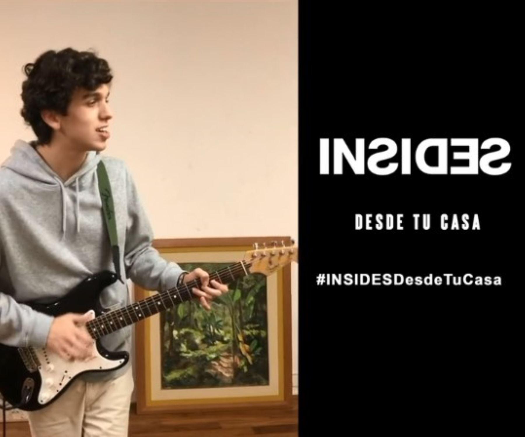 Graba tu video y envíalo al IG de Inside como una forma de compartir tu música.