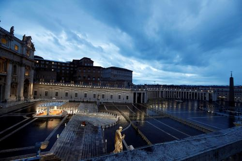 Covid-19: papa Francisco celebra misa extraordinaria por pandemia mundial