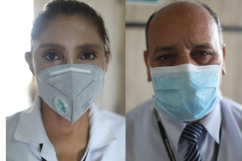 Covid-19: rostros que salvan vidas