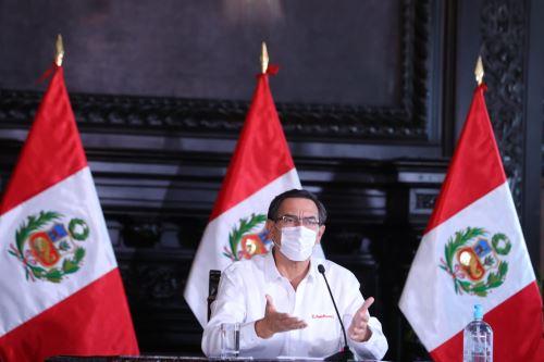Presidente Vizcarra y ministros informan sobre las medidas y acciones que se están implementando por el estado de emergencia nacional