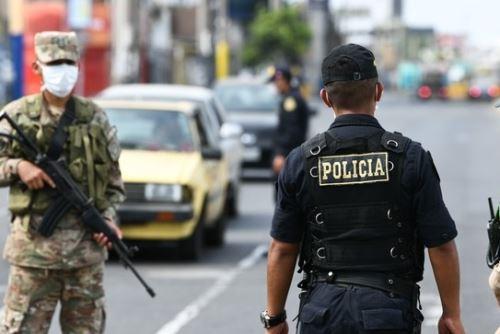 Cuarentena: más de 1,400 detenidos fueron incluidos en registro de infractores. Foto: ANDINA/Difusión.